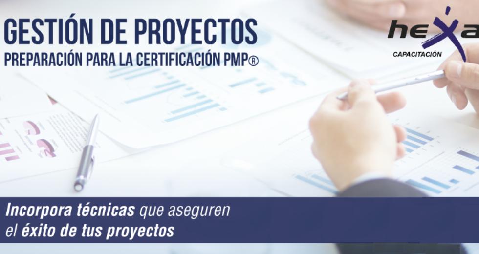 CURSO Gestión de proyectos. PMP. Inicio 14 de Abril